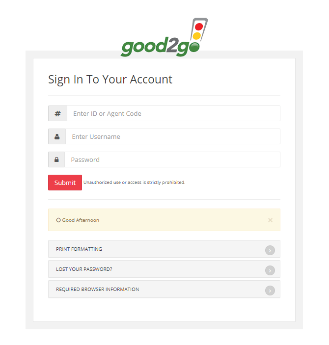 Recover Password Process for Omni Agent Login Portal