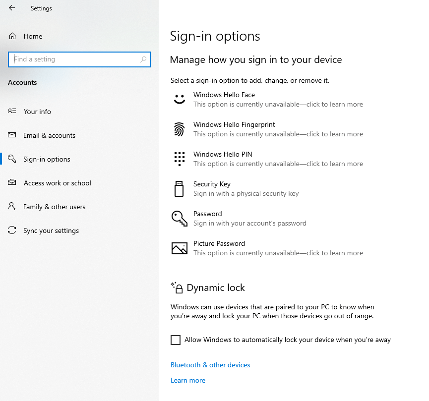 Sign in to Microsoft Account Windows 10