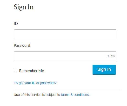 Lexis Advance Sign-in Page